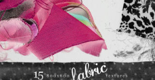 15 Colorful Free Fabric Textures Pack