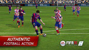 FIFA 15 best ios android games