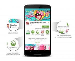 Google Play app listing