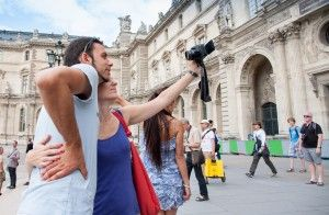 Selfies at museums